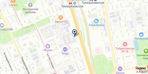 Банкомат, КБ Ситибанк на карте Москве