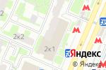 Схема проезда до компании РСД СЕРВИС в Москве