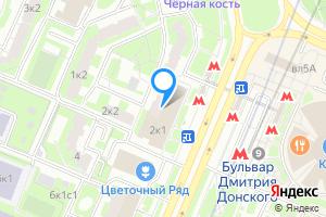 Снять двухкомнатную квартиру в Москве б-р Дмитрия Донского, 2к1