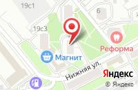 Схема проезда до компании Кастор в Москве