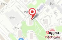 Схема проезда до компании Принт-Сервис в Москве