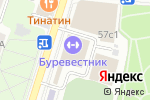 Схема проезда до компании Tennis Team в Москве