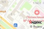 Схема проезда до компании ИК банк в Москве