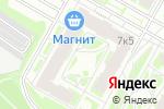 Схема проезда до компании Light Sight в Москве