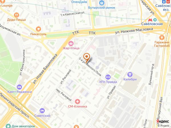 Остановка 5-я ул. Ямского Поля в Москве