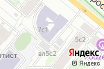 Схема проезда до компании Юрлин в Москве
