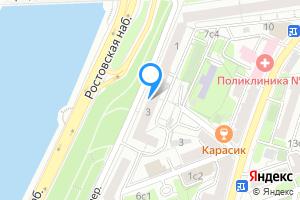 Снять комнату в двухкомнатной квартире в Москве Ростовская наб., 3