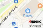 Схема проезда до компании Waffle good в Москве