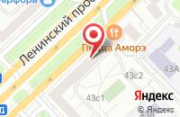 Схема проезда до компании Мэко-Консалтинг в Москве