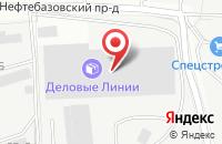 Схема проезда до компании Деловые Линии в Подольске