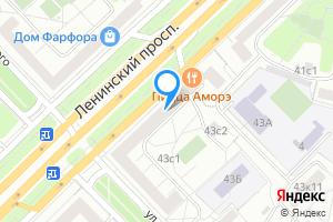 Сдается комната в двухкомнатной квартире в Москве Ленинский пр-т, 43