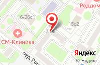 Схема проезда до компании Ватсон Студио Xxi в Москве