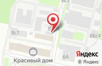 Схема проезда до компании Монолит Строй в Москве