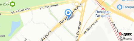 Юристат на карте Москвы