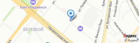 Народная Сервисная Компания на карте Москвы