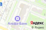 Схема проезда до компании Цветы мира в Москве