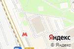 Схема проезда до компании Арт Лайф в Москве