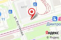 Схема проезда до компании АКБ ЛЕСБАНК в Дмитрове