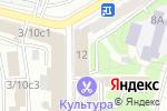 Схема проезда до компании Sila Fm в Москве