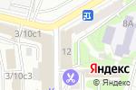 Схема проезда до компании Bewarm.ru в Москве