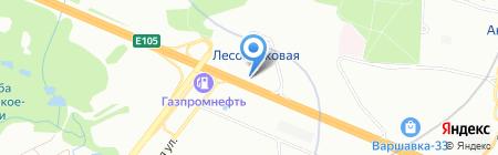 Hydroscand на карте Москвы