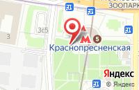 Схема проезда до компании Сэлторг в Москве