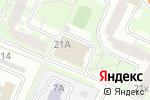 Схема проезда до компании Deep-inside в Москве