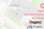 Схема проезда до компании Городской в Москве