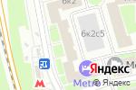 Схема проезда до компании SiberWolf в Москве