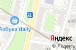 Схема проезда до компании Стоматология на Плющихе в Москве