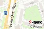 Схема проезда до компании Русская Бронза в Москве