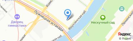 Левония на карте Москвы