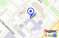Схема проезда до компании НИИ КОММУНИКАЦИОННЫХ ТЕХНОЛОГИЙ И ЭЛЕКТРОНИКИ в Москве