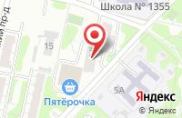 Схема проезда до компании Издательство Август в Москве