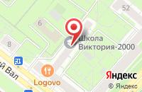 Схема проезда до компании Эрмитаж в Москве