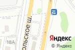 Схема проезда до компании АЗС Shell в Москве