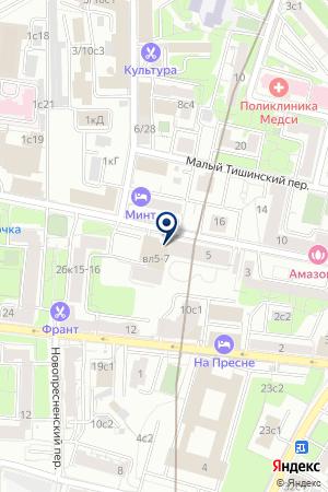 ДОМ КУЛЬТУРЫ ИМ. А.С. СЕРАФИМОВИЧА на карте Москвы