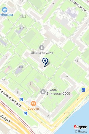 ПРЕДСТАВИТЕЛЬСТВО В МОСКВЕ ПТФ HAUDAN EXPORTBUERO GMBH на карте Москвы