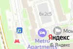 Схема проезда до компании Аванкарт в Москве