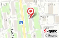 Схема проезда до компании Икслэндэр в Москве