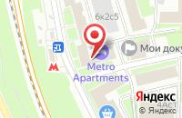 Схема проезда до компании Ритм в Москве