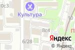 Схема проезда до компании АРХИТЕКТУРНАЯ ПРОИЗВОДСТВЕННАЯ КОМПАНИЯ в Москве
