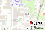 Схема проезда до компании Ассоциация инвесторов Москвы в Москве
