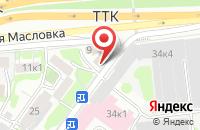 Схема проезда до компании Юмор Фм в Москве