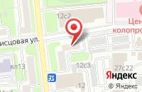 Схема проезда до компании Золотой Лев+ в Москве