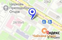Схема проезда до компании ЦЕНТР БИРЖЕВЫХ И ИНФОРМАЦИОННЫХ ТЕХНОЛОГИЙ ТЕЛЕКОМ-СЕРВИС в Москве