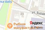 Схема проезда до компании Выставочный зал в Москве