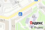 Схема проезда до компании Гринфинанс в Москве