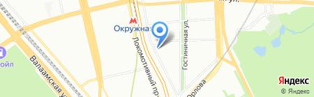 ИНТЕКС на карте Москвы