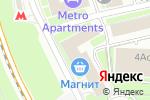 Схема проезда до компании Кредо-Эксперто в Москве